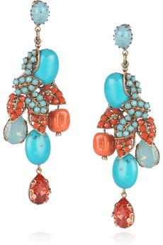 Bijoux Heart Swarovski earrings